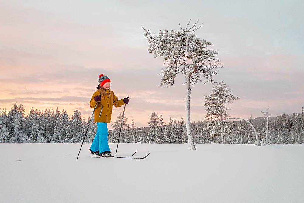 Ylläksen hiihtoladut lasten kanssa latuvinkit