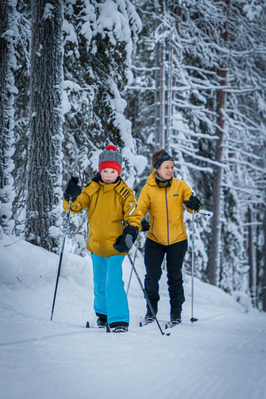 Ylläksen hiihtoladut latuvinkit lasten kanssa