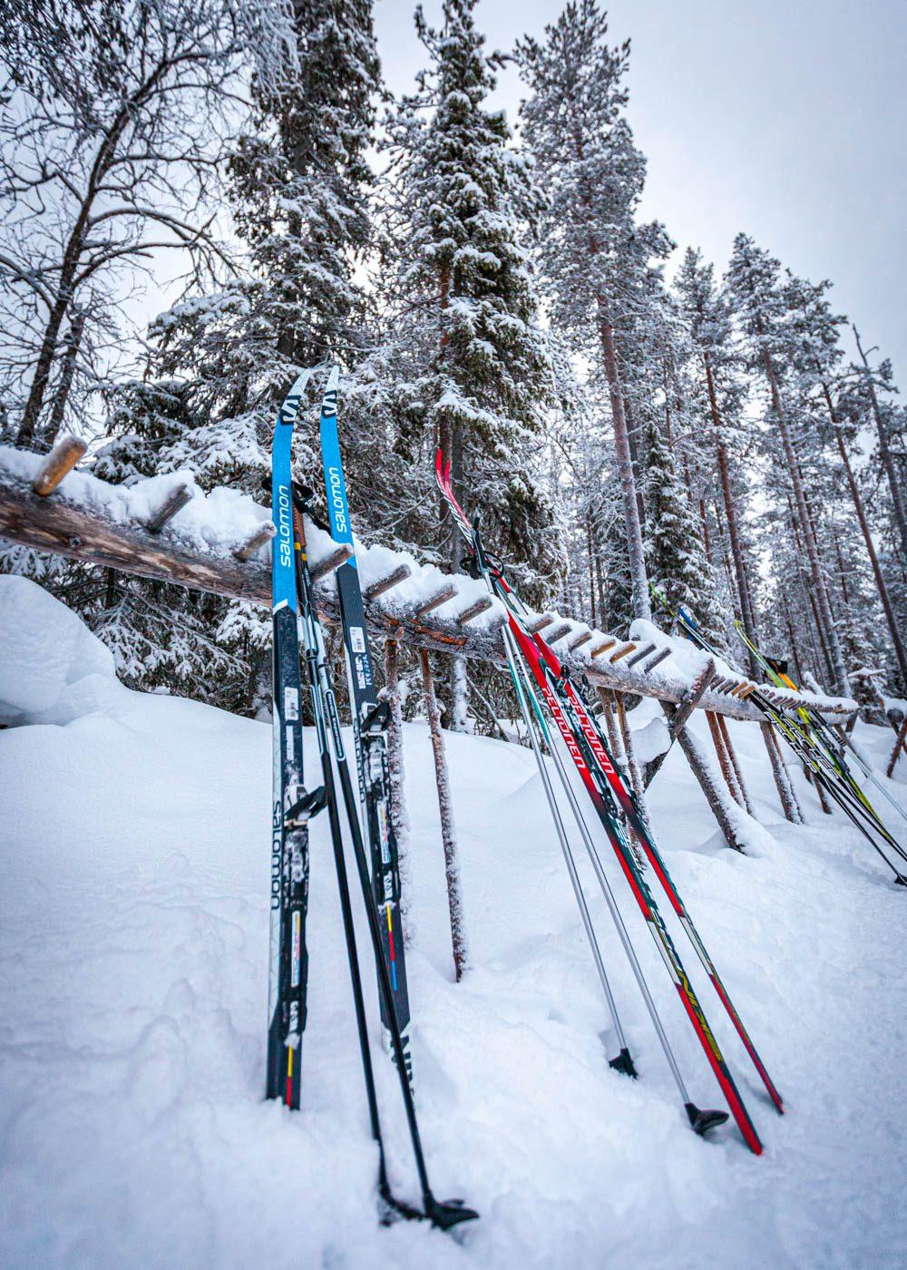 Ylläksen hiihtoladut välinevuokra