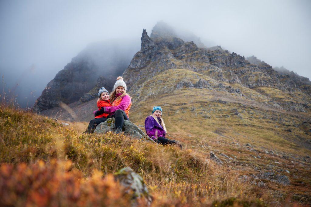 päiväretki Islannin Länsivuonoilla Isafjördur vaellus