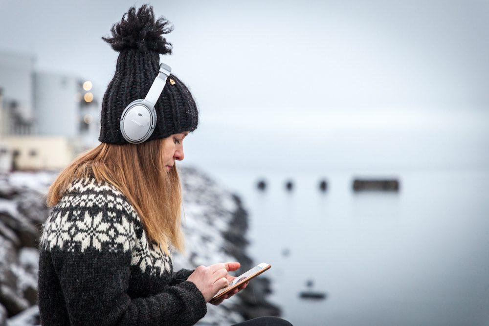 koronasovellus puhelimeen islanti