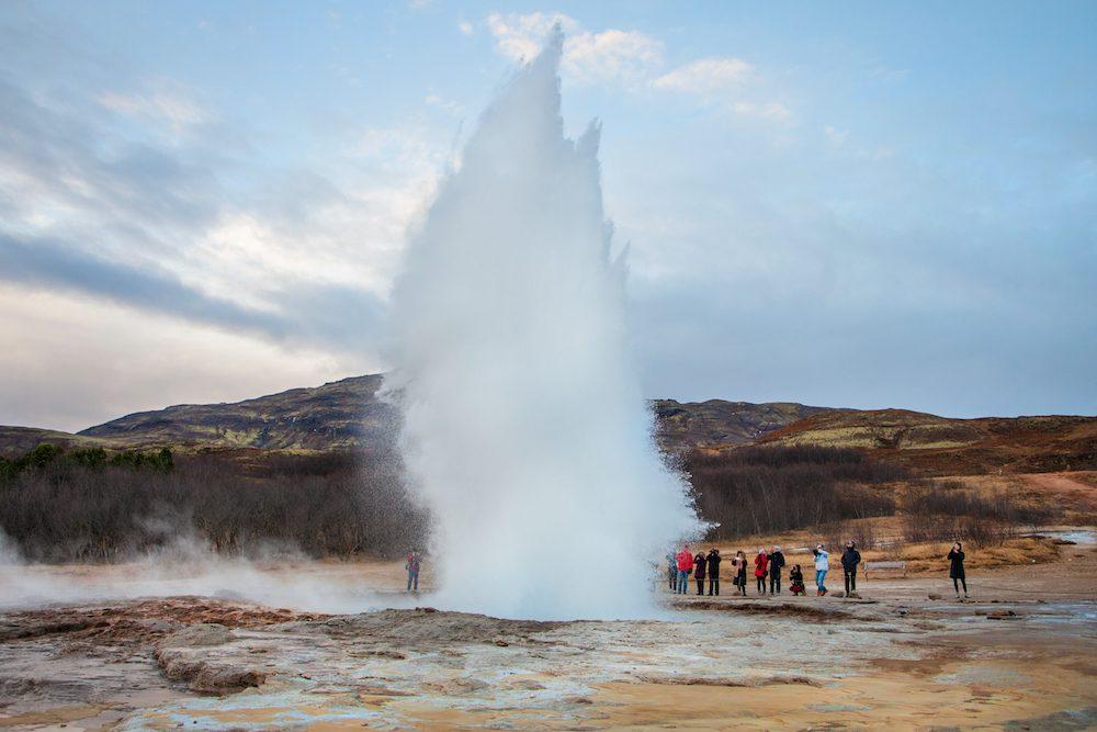 Islanti matkavinkit geysir