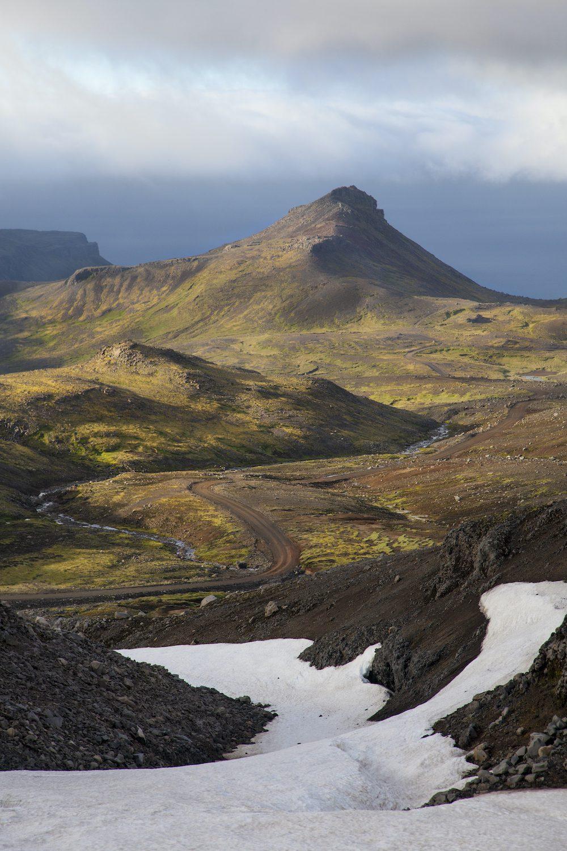 Islanti islannin kartta