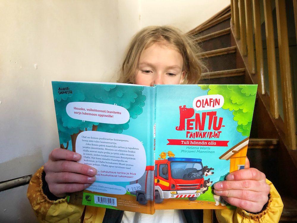 Luettavaa lapsille lastenkirjavinkki