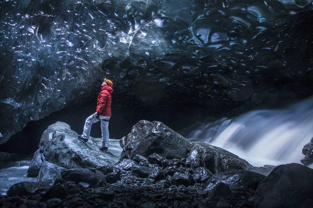 islanti jääluola