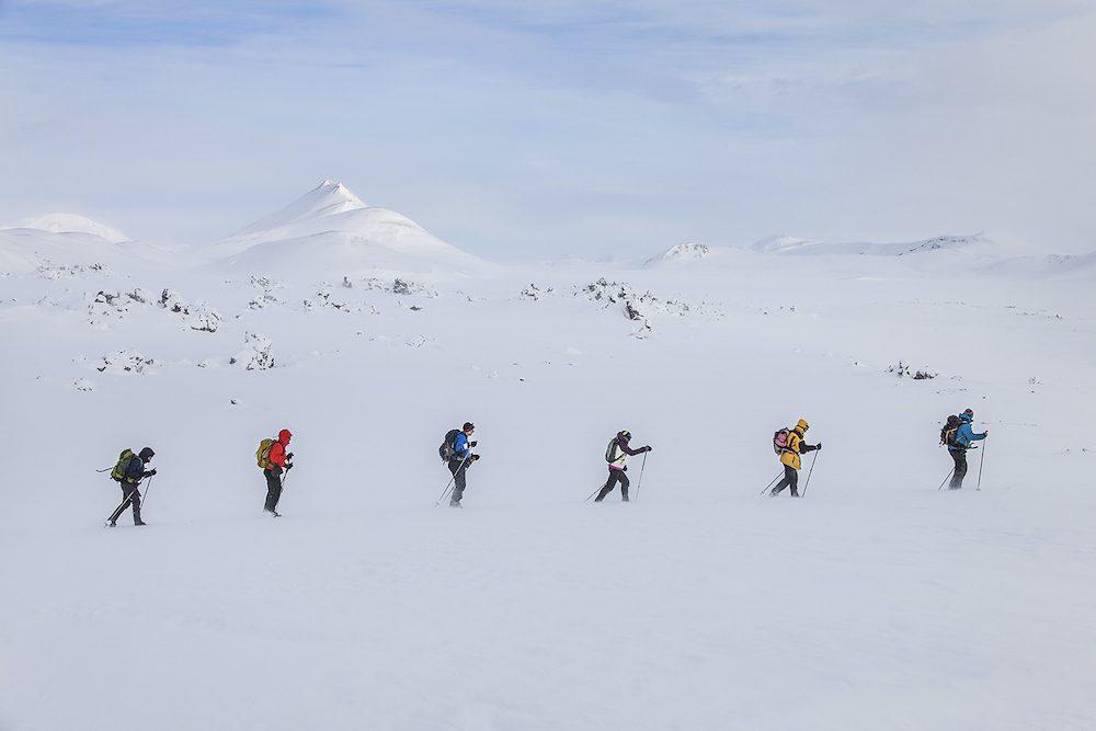 hiihtovaellus islannissa matkakokemus