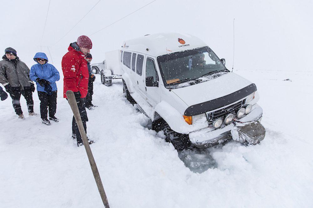 hiihtovaellus islannissa