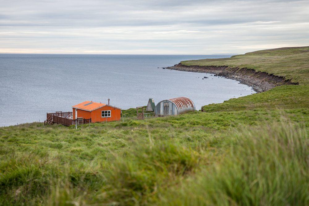 islanninhevosvaelluksella erämaamaja