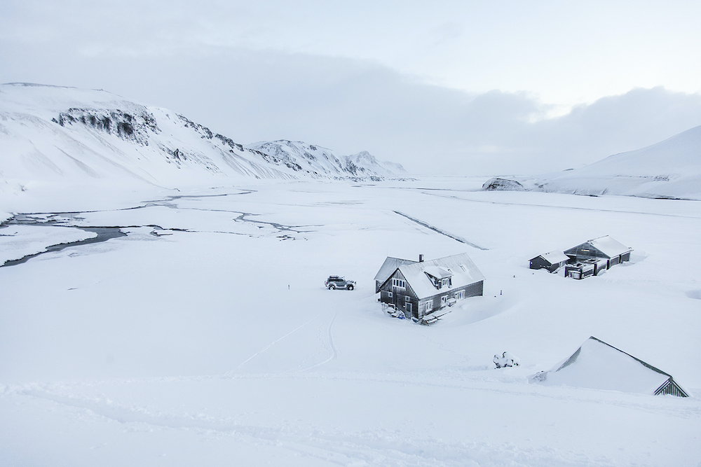 landmannalaugar talvella