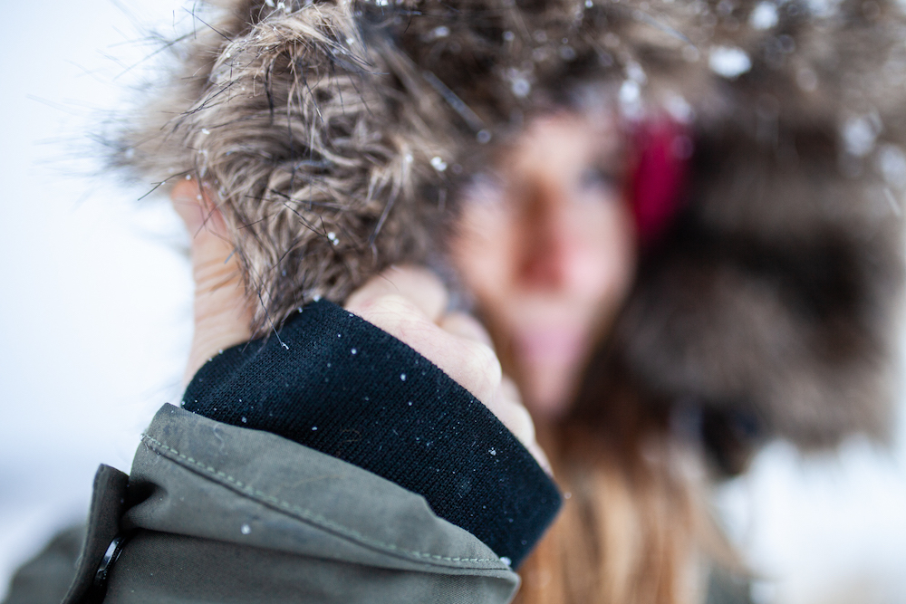 talvitakin hihansuut pitkä talvitakki