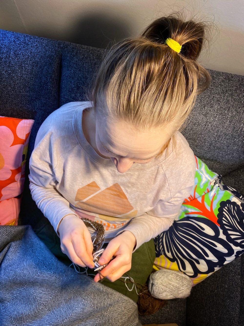ensimmainen islantilainen villapaita hnetur