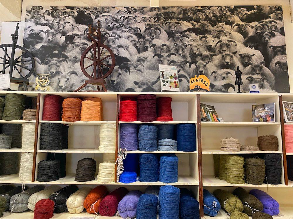 islantilainen villapaita alafossin myymälä