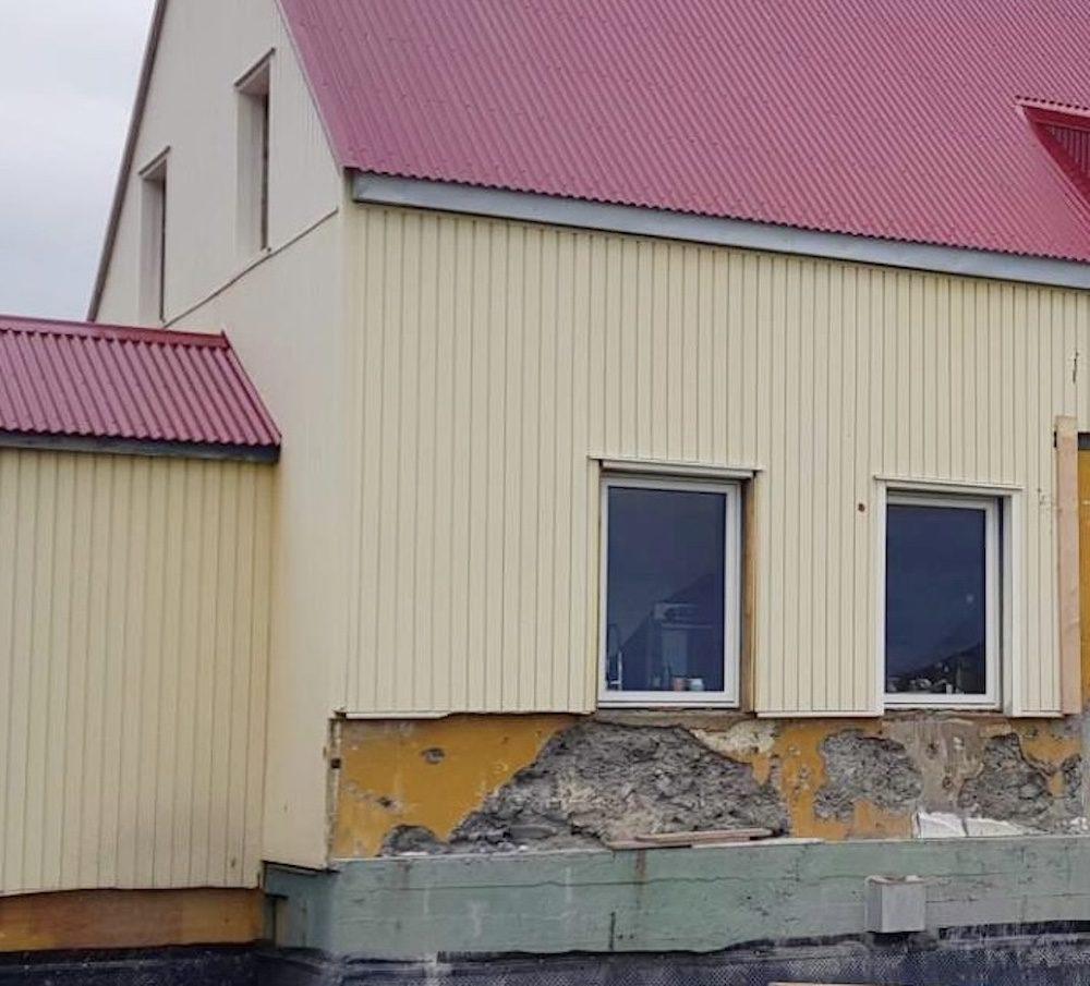 talon paallystaminen islanti alkutilanne